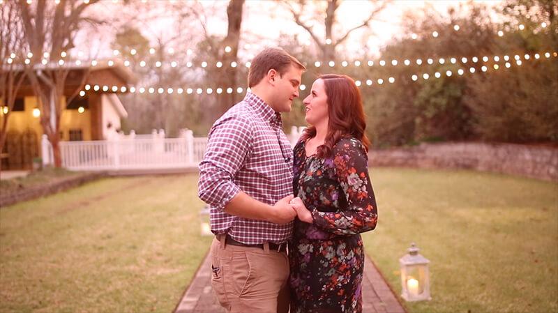 Krista & David | Proposal Video | Mathews Manor
