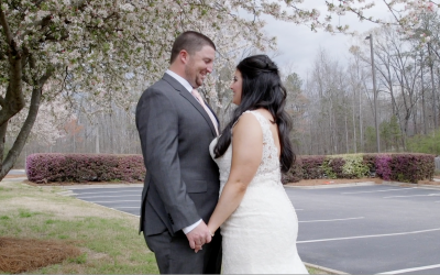 Juliet & Austin | Prince Of Peace Catholic Church | Hoover, Alabama