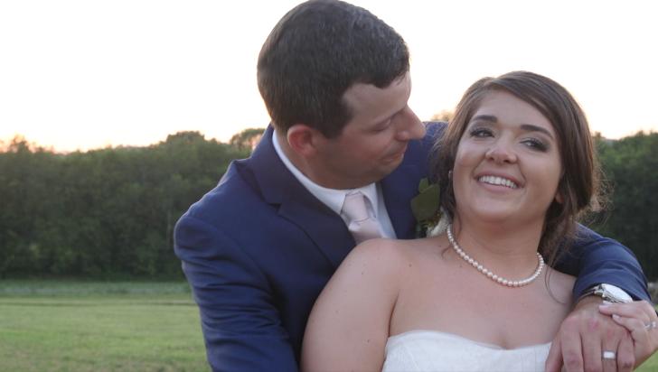 bride and groom outdoor barn wedding nashville tn wedding videography